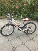Mountainbike 24 tommer