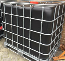 1000 liters palletank, Sort