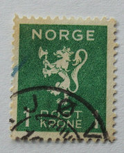 Norge - AFA 208 - Stemplet