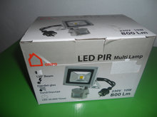 GRIPO LED multilampe IP65 med PIR sensor