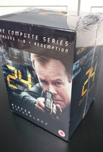 24 HOURS DVDs the complete series