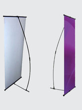 Solid roll-up display/banner