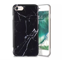 Sort marmor cover iPhone 6 6s 7 8