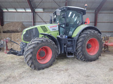 CLAAS 850 AXION, 330 timer