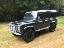 Landrover defender Td5 10 Pers bus