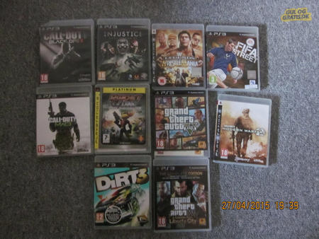 PS3 spil - Ribe - PS3 spil, PS3 spil sælges Call of Duty MW3 Kr.100,- - Ribe