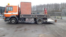 MAN 14.224 med HMF kran model Handy 150