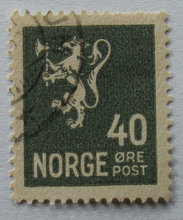 Norge - AFA 134 - Stemplet