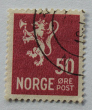 Norge - AFA 276 - Stemplet