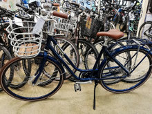 Ny skinnede dame cykel