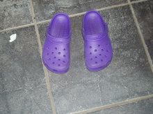 Crocs clogs lilla str. 12-13