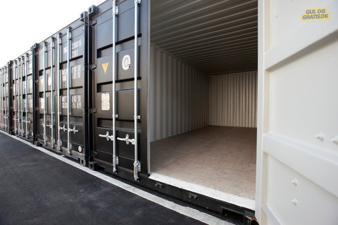 Lagercontainer, billede 1