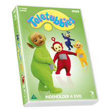 4 TELETUBBIES film i en boks
