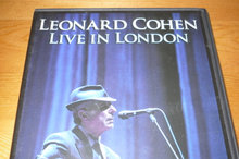 LEONARD COHEN; Live in London.