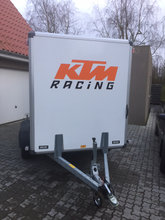 2 tons cargo trailer 3 mdr.