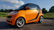 Smart Fortwo Coupé, 2008, diesel,nysynet