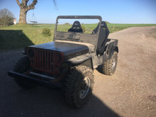 Willys Jeep Cj3a årg 52
